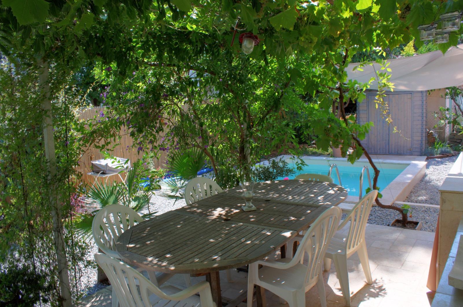 Vente rare appartement avec jardin et piscine for Jardin 150m2